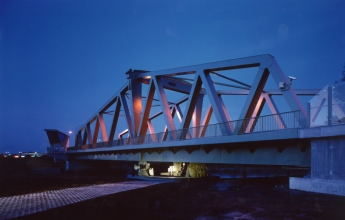 Swing bridges - Geeste-Bridge, Germany
