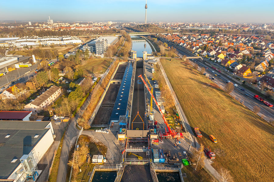 Main-Danube Canal & Europe Canal / Europe