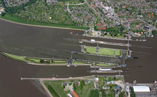 Contract award - New construction of 5th lock chamber of Brunsbüttel / Germany